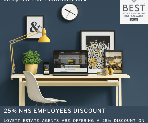 Lovett Offer NHS Workers 25% Discount